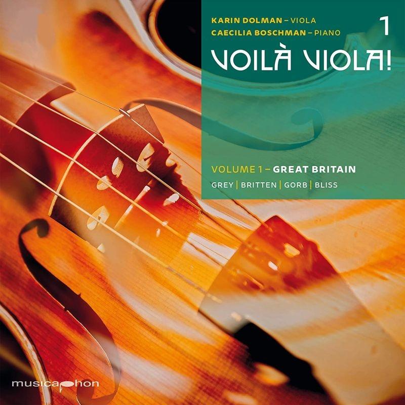 Voila Viola! Vol.1-great Britain: Dolman(Va)Boschman(P)