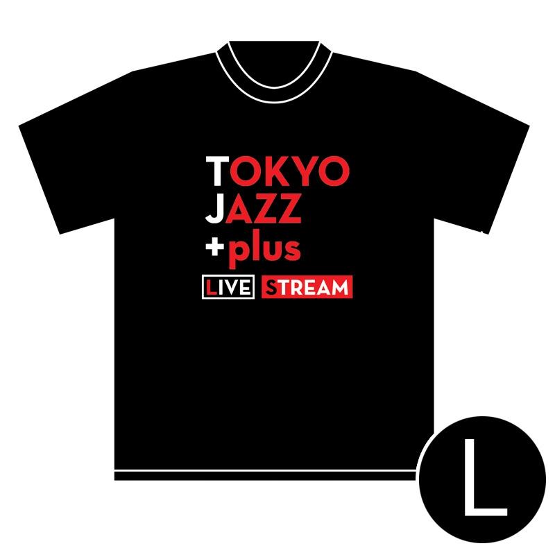 TOKYO JAZZ +plus LIVE STREAM Tシャツ(Lサイズ)