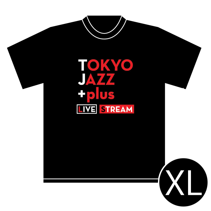 TOKYO JAZZ +plus LIVE STREAM Tシャツ(XLサイズ)