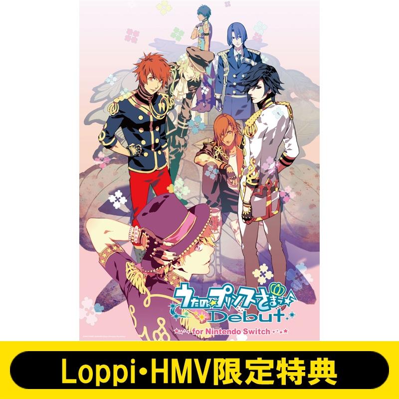 うたの☆プリンスさまっ♪Debut for Nintendo Switch≪Loppi・HMV限定特典:A4クリアファイル付き≫