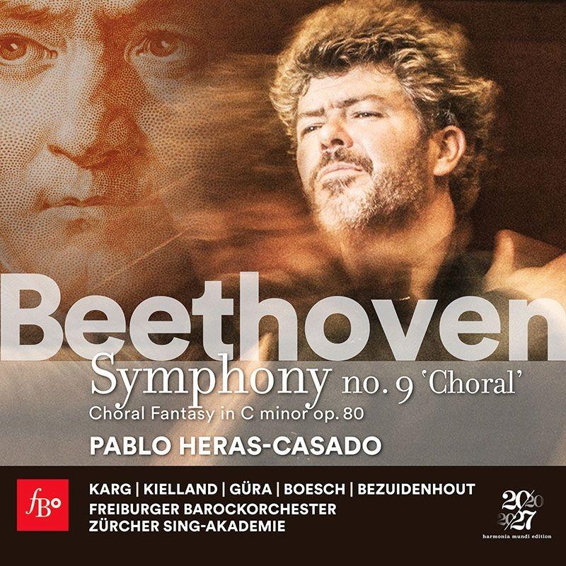 交響曲第9番『合唱』、合唱幻想曲 パブロ・エラス=カサド&フライブルク・バロック・オーケストラ、クリスティアン・ベズイデンホウト、他(2CD)