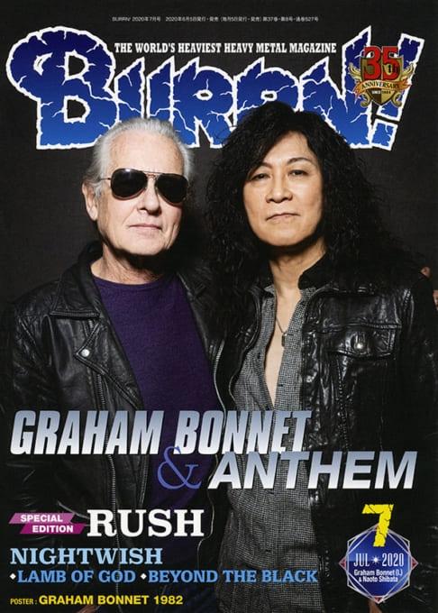 BURRN! (バーン)2020年 7月号【表紙巻頭:グラハム・ボネット & ANTHEM】