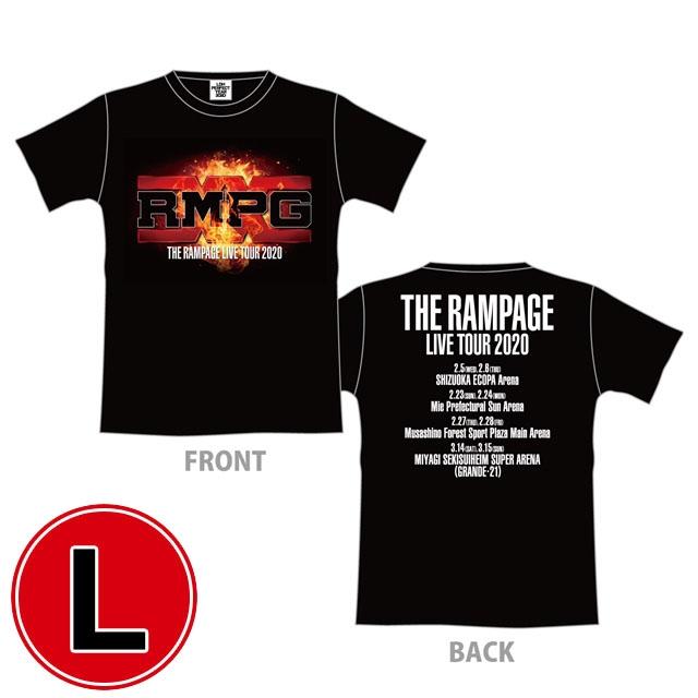 RMPG ツアーTシャツ(BLACK/L)/ IGNITION