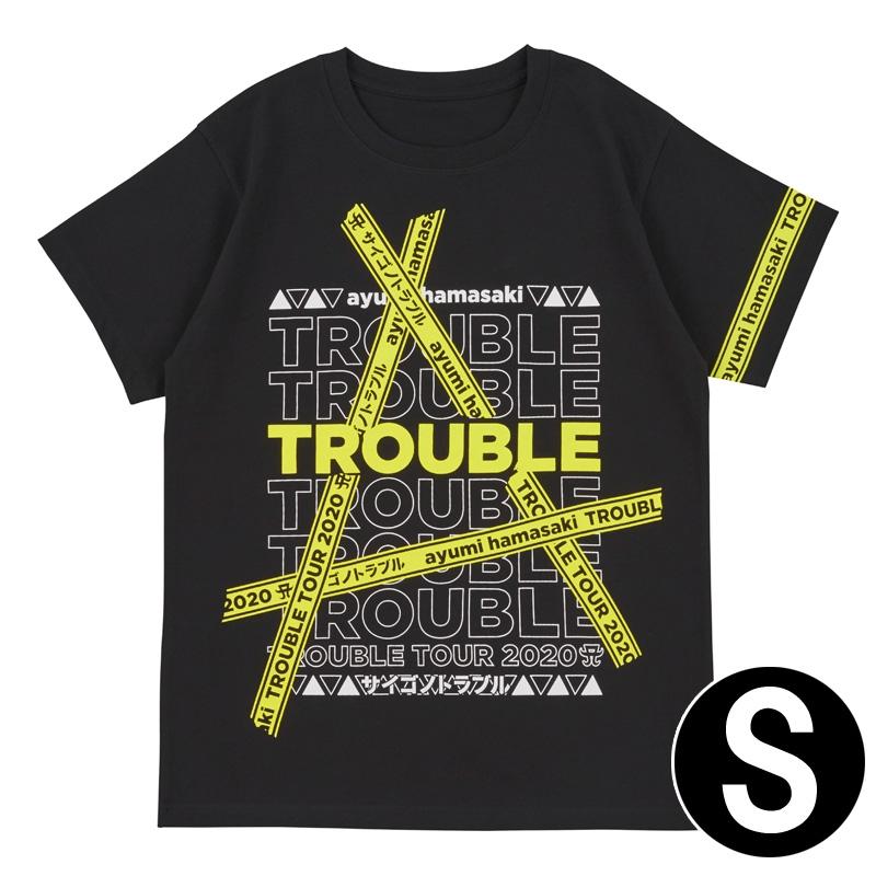 Tシャツ(S) / ayumi hamasaki TROUBLE TOUR 2020A〜サイゴノトラブル〜