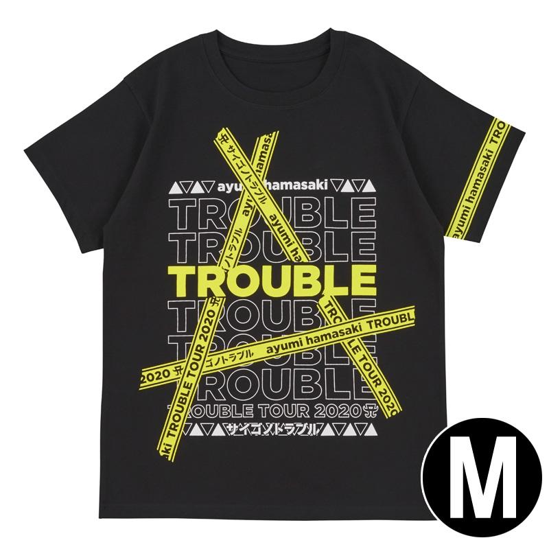 Tシャツ(M) / ayumi hamasaki TROUBLE TOUR 2020A〜サイゴノトラブル〜
