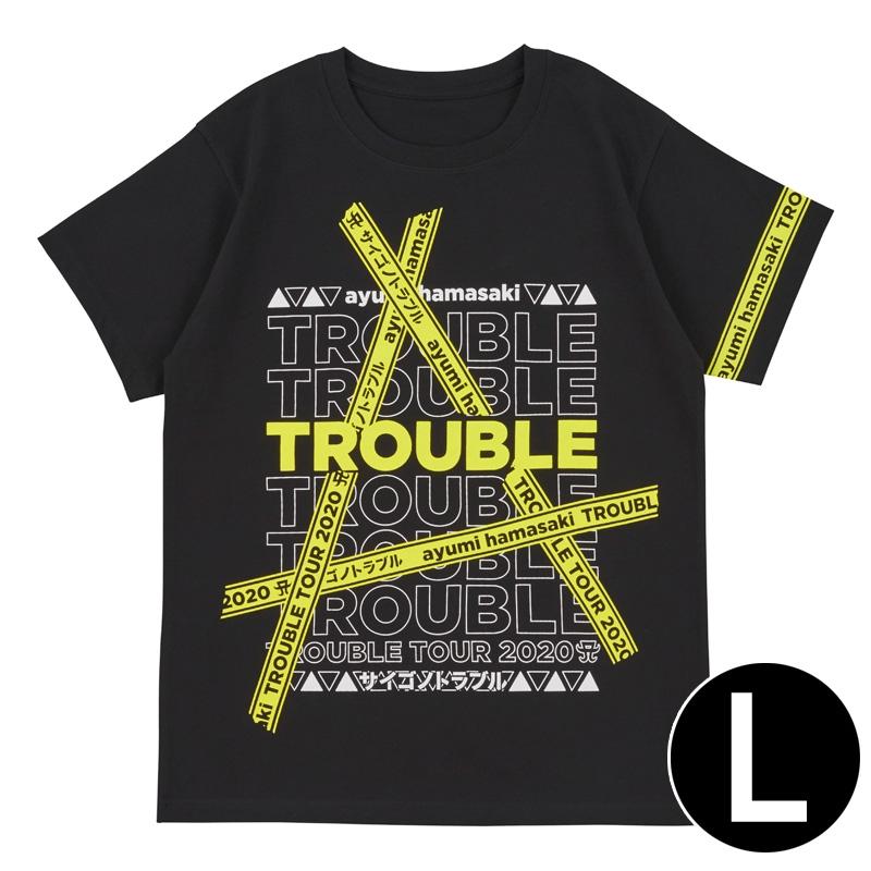 Tシャツ(L) / ayumi hamasaki TROUBLE TOUR 2020A〜サイゴノトラブル〜