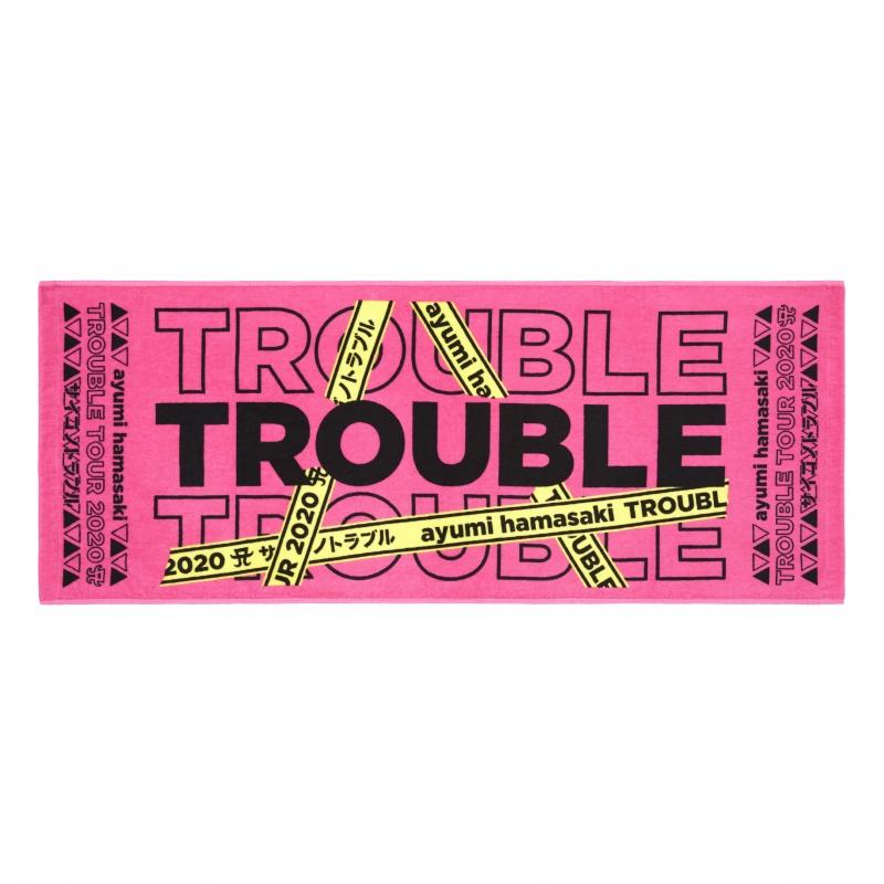 スポーツタオル(PINK) / ayumi hamasaki TROUBLE TOUR 2020A〜サイゴノトラブル〜
