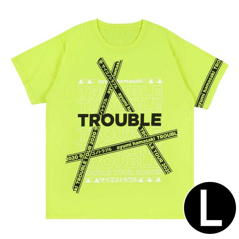 Tシャツ(YELLOW・L) / ayumi hamasaki TROUBLE TOUR 2020A〜サイゴノトラブル〜