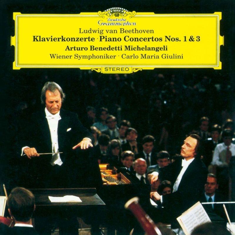 ピアノ協奏曲第1番、第3番 アルトゥーロ・ベネデッティ・ミケランジェリ、カルロ・マリア・ジュリーニ&ウィーン交響楽団(MQA/UHQCD)