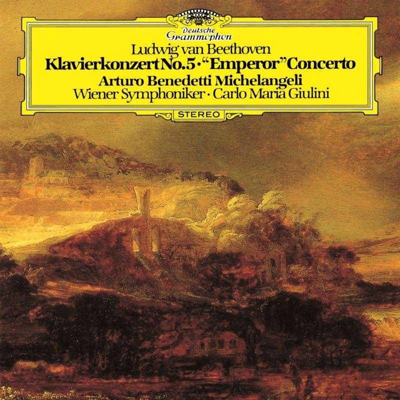 ピアノ協奏曲第5番『皇帝』、ピアノ・ソナタ第4番 アルトゥーロ・ベネデッティ・ミケランジェリ、カルロ・マリア・ジュリーニ&ウィーン交響楽団(MQA/UHQCD)