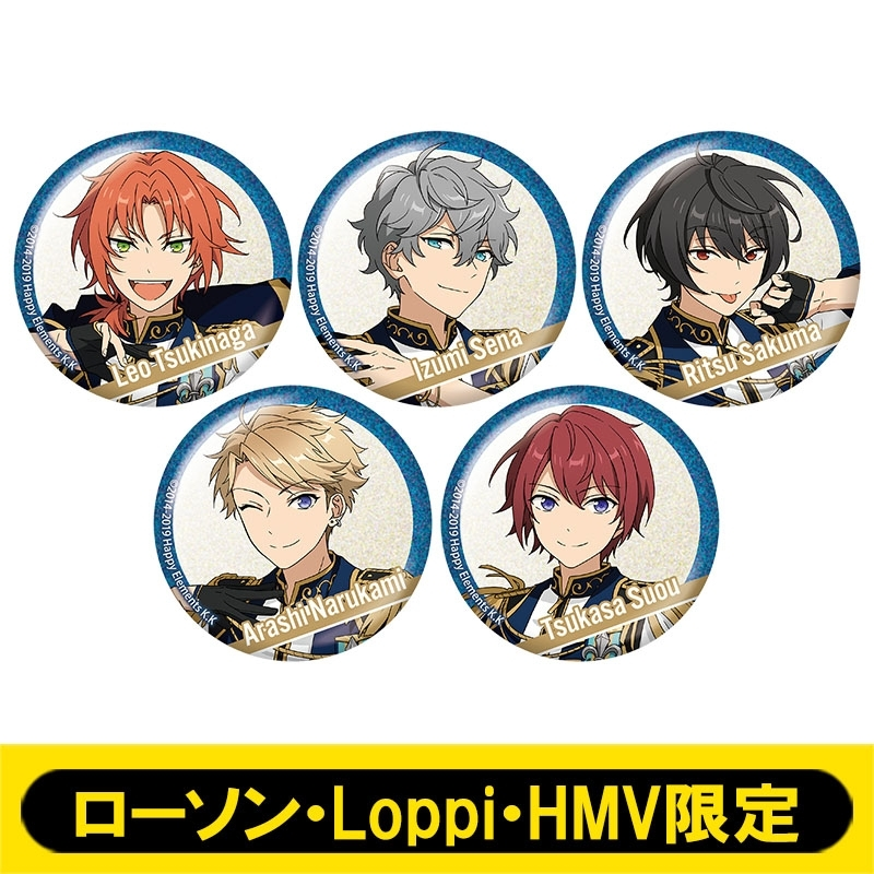 ホログラム缶バッジ5個セット(Knights)【ローソン・Loppi・HMV限定】