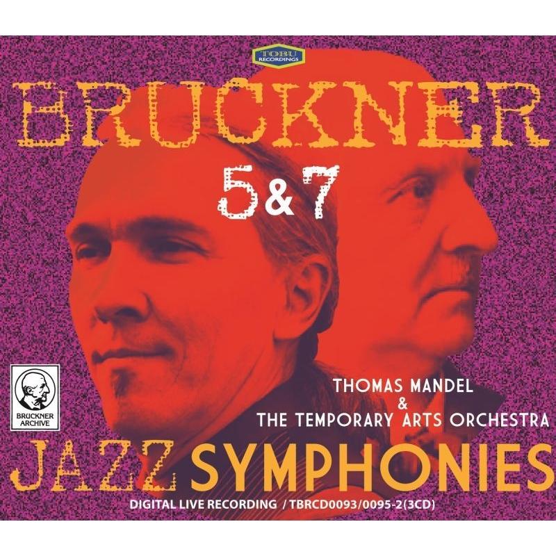 交響曲第5番、第7番〜マンデル編曲ジャズ・シンフォニー版 トーマス・マンデル&テンポラリー・アーツ・オーケストラ(3CD)