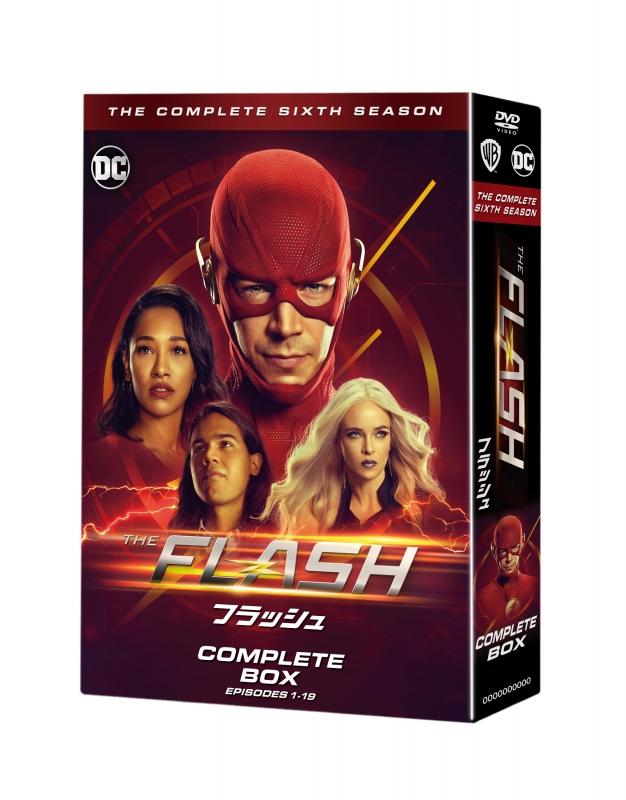 THE FLASH / フラッシュ <シックス・シーズン>DVD コンプリート・ボックス(4枚組)