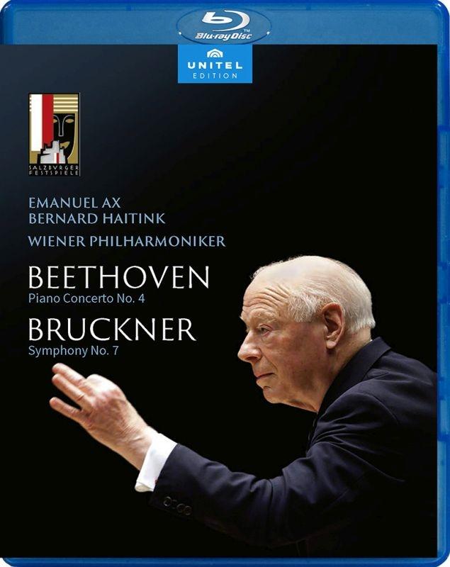 ブルックナー:交響曲第7番、ベートーヴェン:ピアノ協奏曲第4番 ベルナルド・ハイティンク&ウィーン・フィル、エマニュエル・アックス(2019)