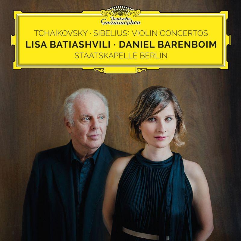 チャイコフスキー:ヴァイオリン協奏曲、シベリウス:ヴァイオリン協奏曲 リサ・バティアシュヴィリ、ダニエル・バレンボイム&シュターツカペレ・ベルリン(MQA/UHQCD)