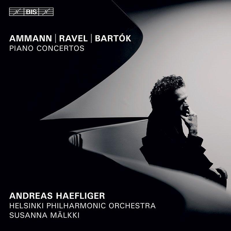 ラヴェル:左手のためのピアノ協奏曲、バルトーク:ピアノ協奏曲第3番、アーマン:グラン・トッカータ アンドレアス・ヘフリガー、マルッキ&ヘルシンキ・フィル