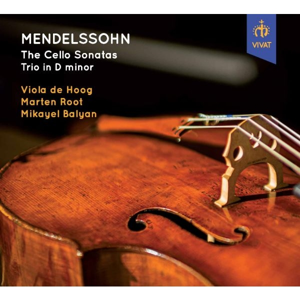 チェロ・ソナタ第1番、第2番、ピアノ三重奏曲第1番 フィオラ・デ・ホーフ(チェロ)、マルテン・ロート(フルート)、ミカエル・バルヤン(ピアノ)