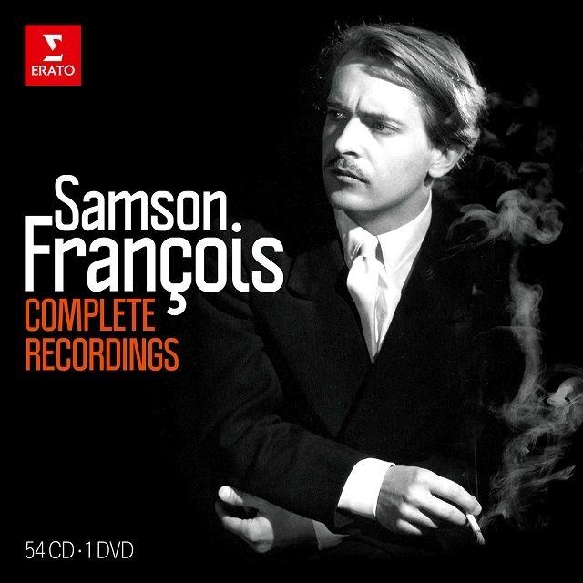 サンソン・フランソワ/コンプリート・レコーディングズ(54CD+DVD)