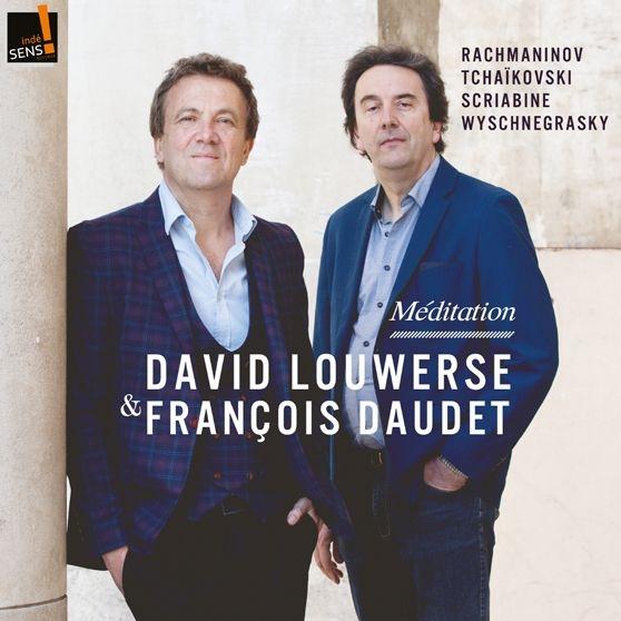 瞑想曲〜チェロとピアノのためのロシア音楽集 ダヴィッド・ルーヴェルス、フランソワ・ドーデー