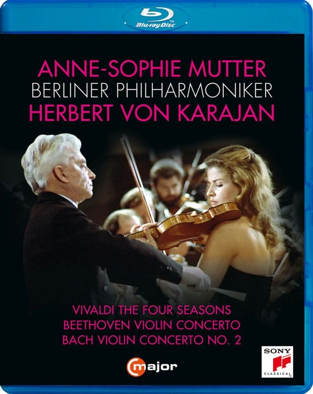 Beethoven Violin Concerto, Vivaldi Four Seasons, Bach Concerto No.2, etc : Anne-Sophie Mutter(Vn)Herbert von Karajan / Berlin Philharmonic (1984, 1987)