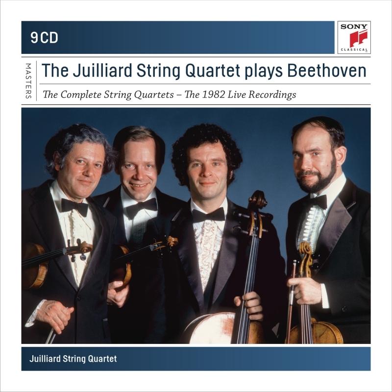 Complete String Quartets : Juilliard String Quartet (1982)(9CD)