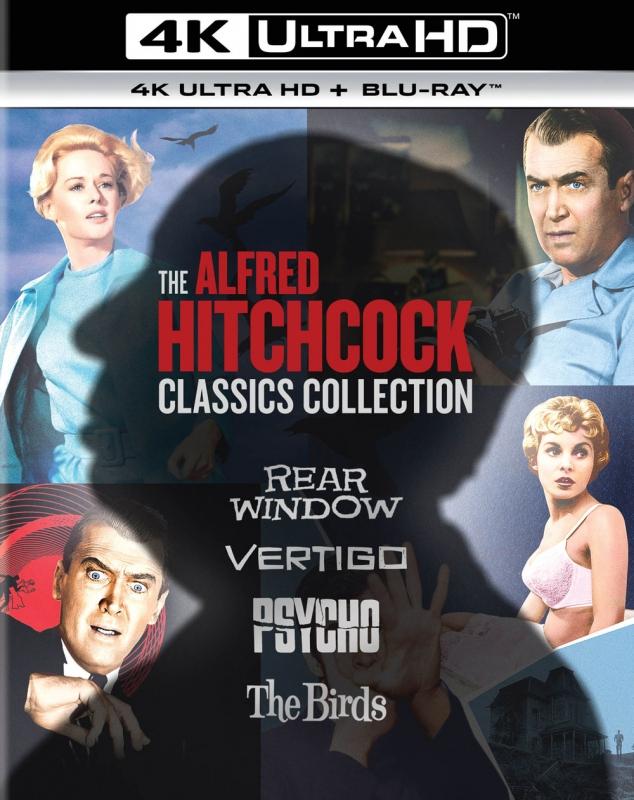 アルフレッド・ヒッチコック クラシックス・コレクション 4K Ultra HD+ ...