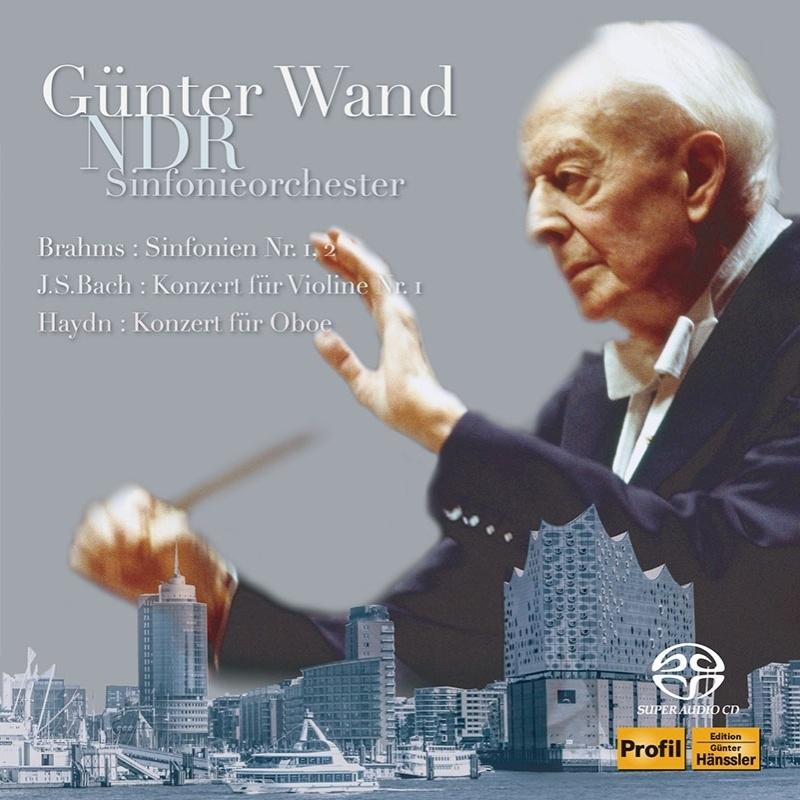 Symphonies Nos.1, 2, J.S.Bach, Haydn : Gunter Wand / NDR Symphony Orchesstra (1990, 1992)(2SACD)