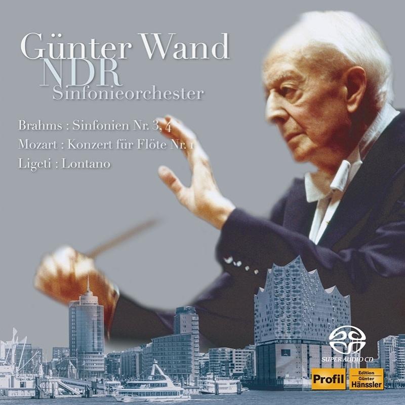 Symphonies Nos.3, 4, Mozart, Ligeti : Gunter Wand / NDR Symphony Orchesstra (1990, 1987, 1988)(2SACD)