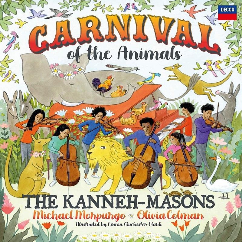 『動物の謝肉祭』 カネー=メイソンズ、マイケル・モーパーゴ、オリヴィア・コールマン