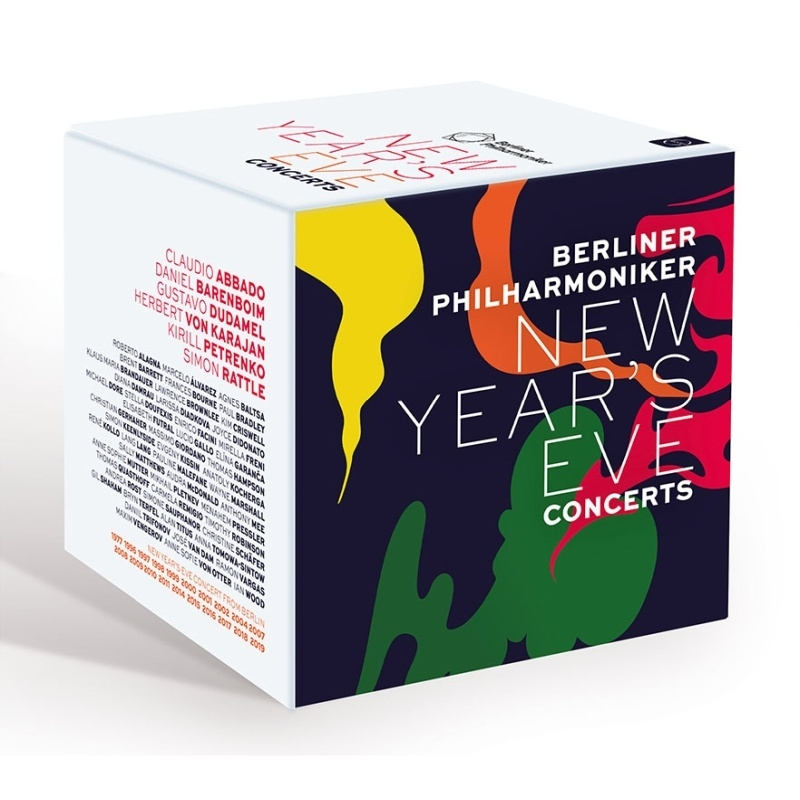 ジルヴェスター・コンサート・ボックス ベルリン・フィルハーモニー管弦楽団(20BD)