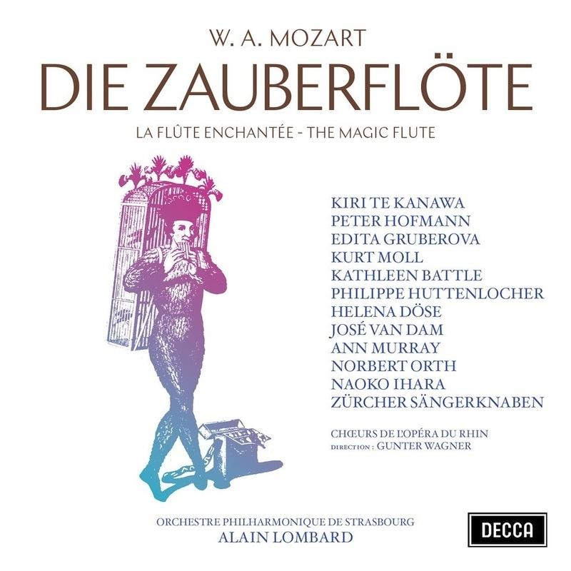 『魔笛』全曲 アラン・ロンバール&ストラスブール・フィル、ペーター・ホフマン、エディタ・グルベローヴァ、他(1978 ステレオ)(2CD)