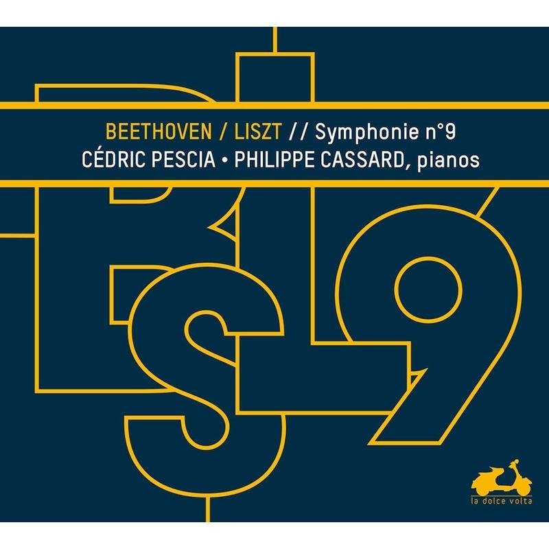 交響曲第9番『合唱』〜リスト編曲2台ピアノ版 セドリック・ペシャ、フィリップ・カサール
