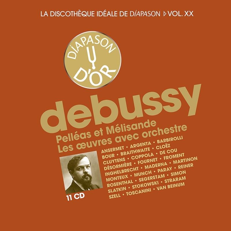 管弦楽作品集、『ペレアスとメリザンド』全曲 シャルル・ミュンシュ、エルネスト・アンセルメ、ジャン・マルティノン、ジャン・フルネ、ピエロ・コッポラ、他(11CD)
