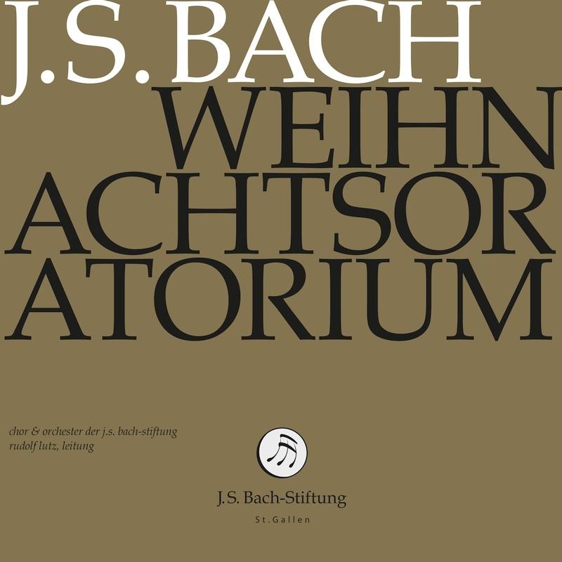 クリスマス・オラトリオ ルドルフ・ルッツ&バッハ財団管弦楽団、バッハ財団合唱団(2CD)