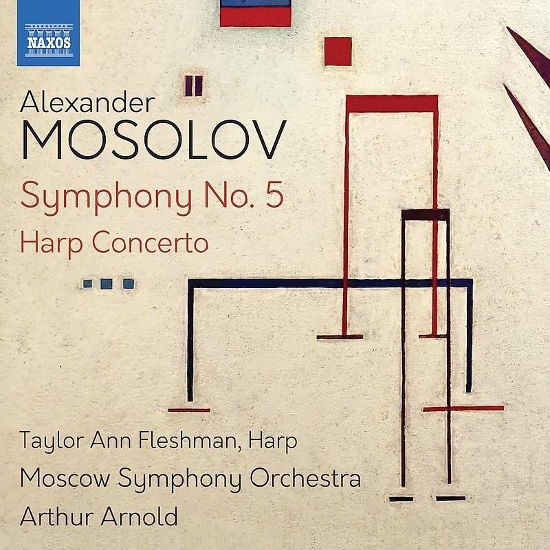 交響曲第5番、ハープ協奏曲 アルトゥール・アルノルト&モスクワ交響楽団、テイラー・アン・フレッシュマン