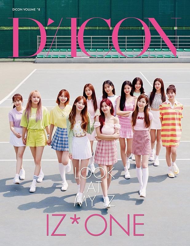Dicon vol.8 IZ*ONE写真集『LOOK AT MY iZ』JAPAN EDITION