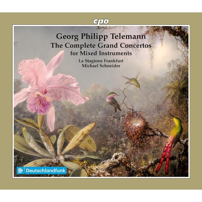 様々な楽器のための協奏曲集 ミヒャエル・シュナイダー&ラ・スタジオーネ・フランクフルト(6CD)