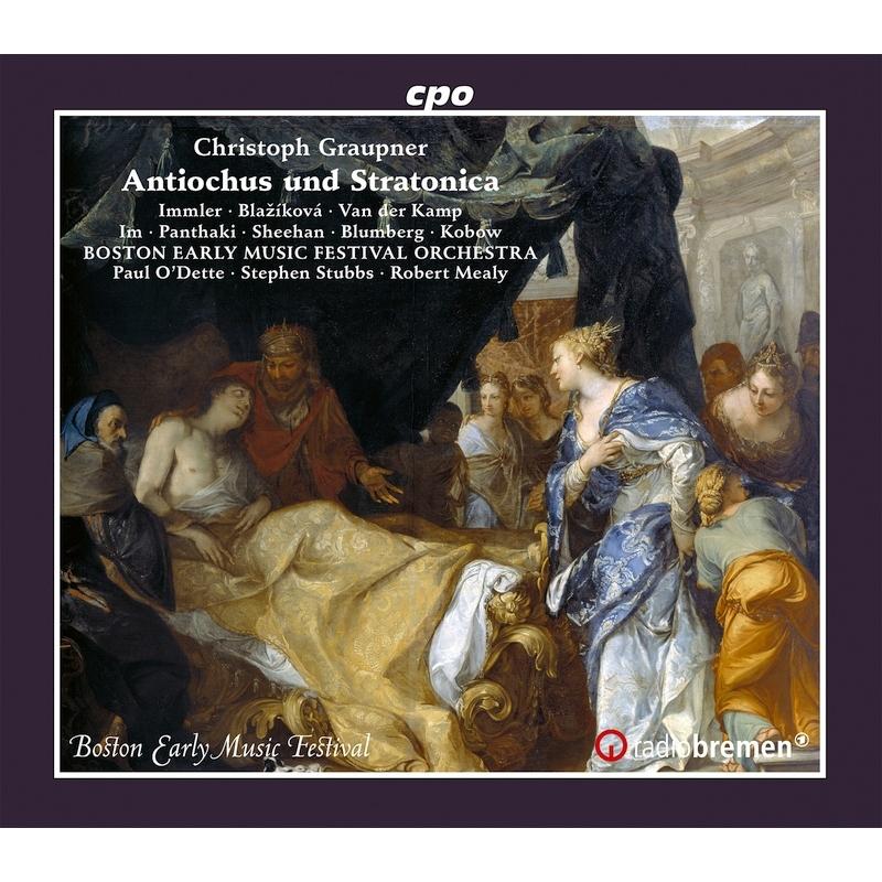 歌劇『アンティオクスとシュトラトニカ』全曲 オデット、スタッブス、ボストン古楽音楽祭管弦楽団、イムラー、ブラシコヴァ、他(2020 ステレオ)(3CD)