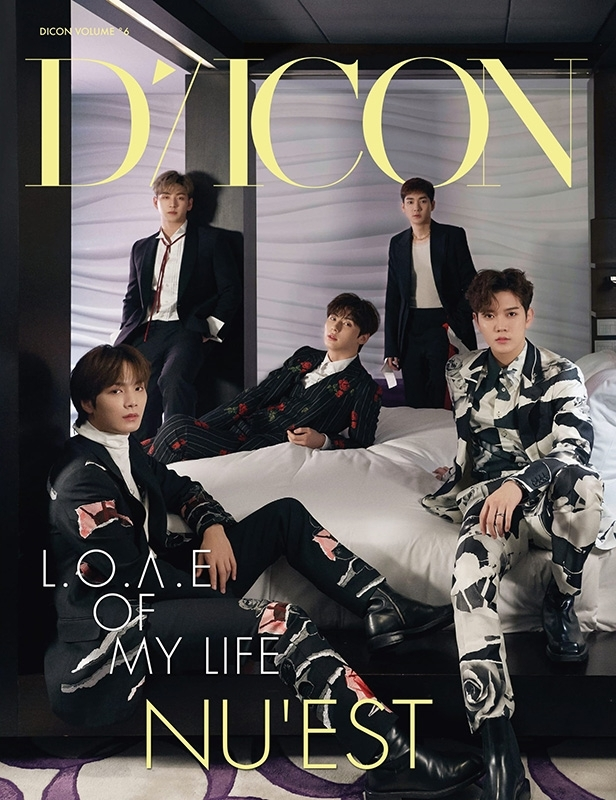 Dicon vol.6  NU'EST写真集『L.O.Λ.E OF MY LIFE』JAPAN EDITION
