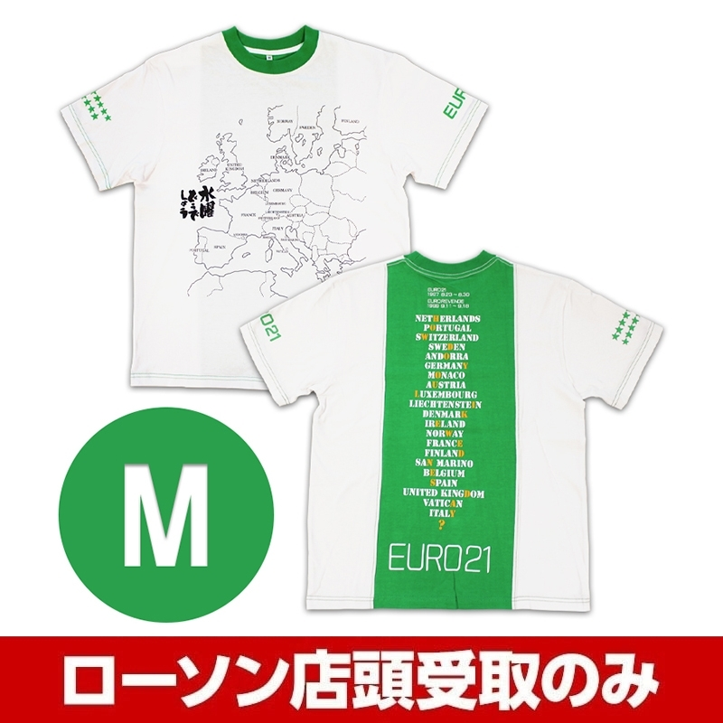 グリーン(M)Tシャツ 水曜どうでしょう EURO21