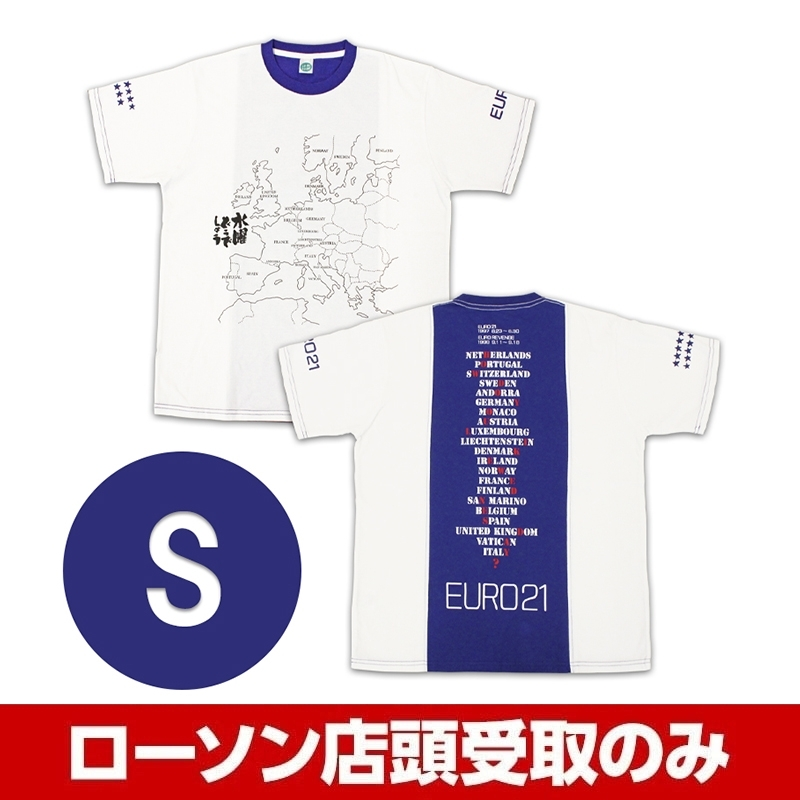ブルー(S)Tシャツ 水曜どうでしょう EURO21
