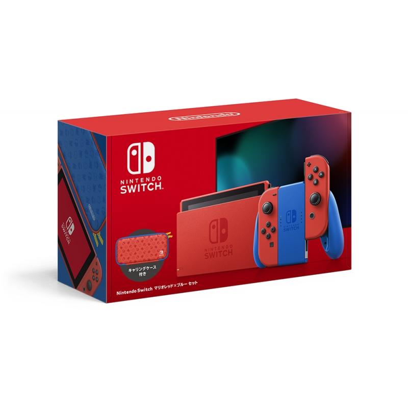 Nintendo Switch マリオレッド×ブルー セット《全額内金》