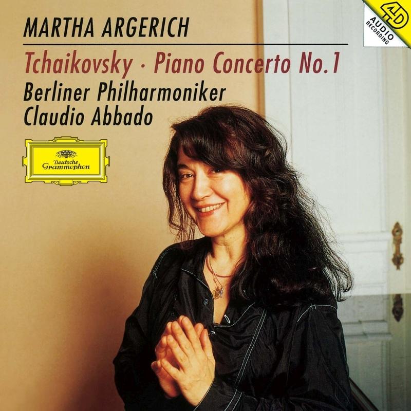 チャイコフスキー:ピアノ協奏曲第1番、ラヴェル:ピアノ協奏曲 マルタ・アルゲリッチ、クラウディオ・アバド&ベルリン・フィル、ロンドン交響楽団