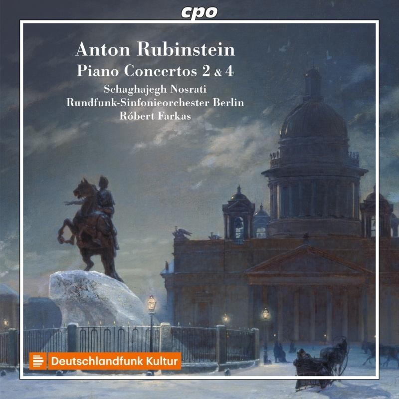 ピアノ協奏曲第2番、第4番 シャガイェグ・ノスラティ、ロベルト・ファルカス&ベルリン放送交響楽団