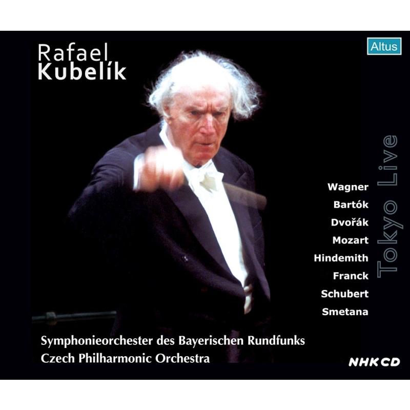 ラファエル・クーベリック 来日公演集 バイエルン放送交響楽団(1965年ステレオ)、チェコ・フィル(1991年ステレオ)(4CD)
