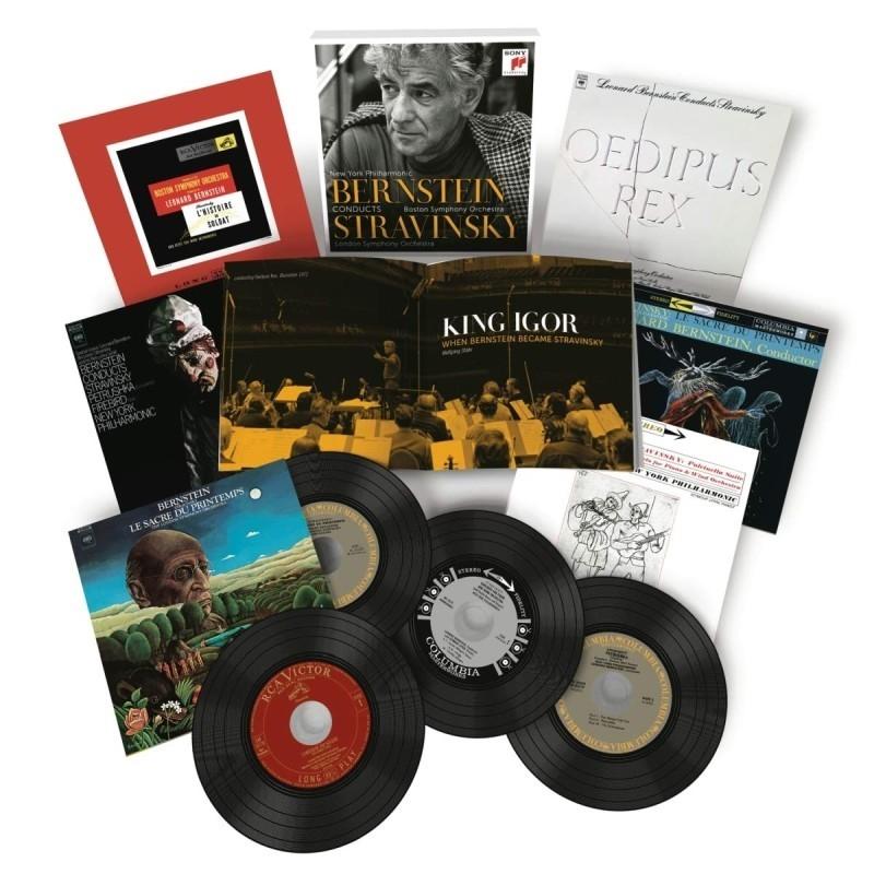 レナード・バーンスタイン・コンダクツ・ストラヴィンスキー ニューヨーク・フィル、ロンドン交響楽団、ボストン交響楽団(6CD)