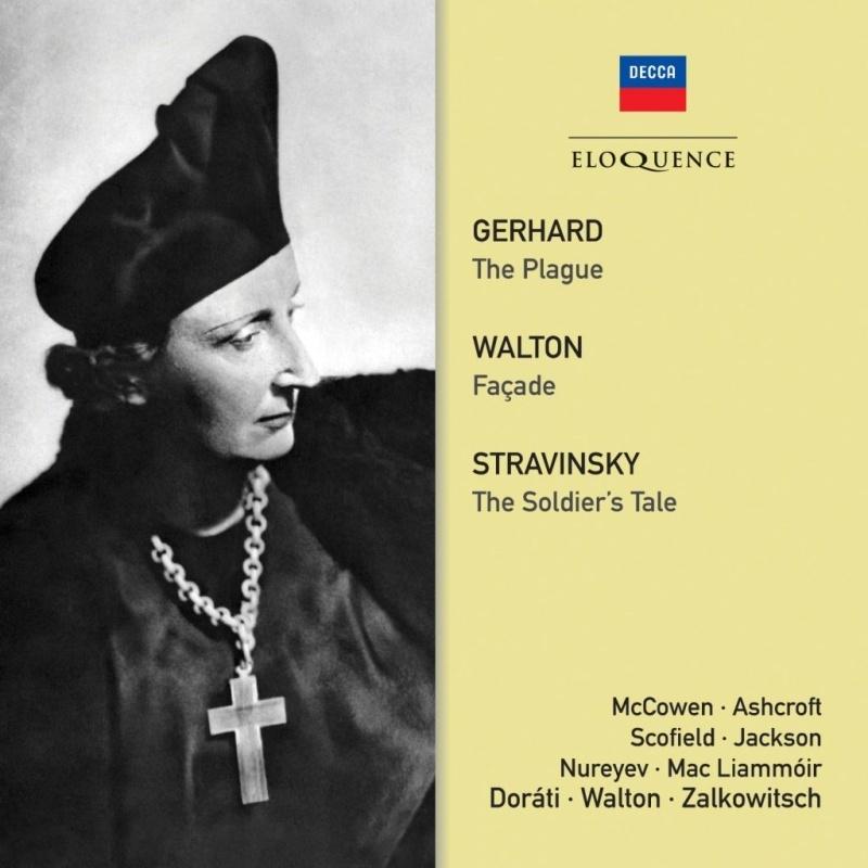 ジェラール:ペスト(ドラティ指揮)、ウォルトン:ファサード(ウォルトン指揮)、ストラヴィンスキー:兵士の物語(ザルコヴィチ指揮)(2CD)