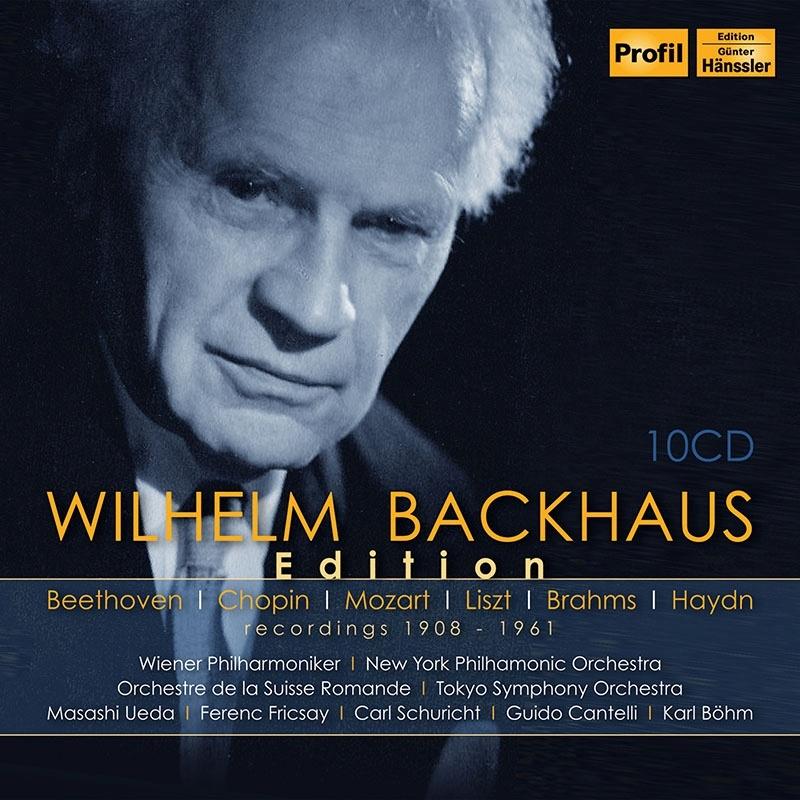 ヴィルヘルム・バックハウス・エディション(10CD)