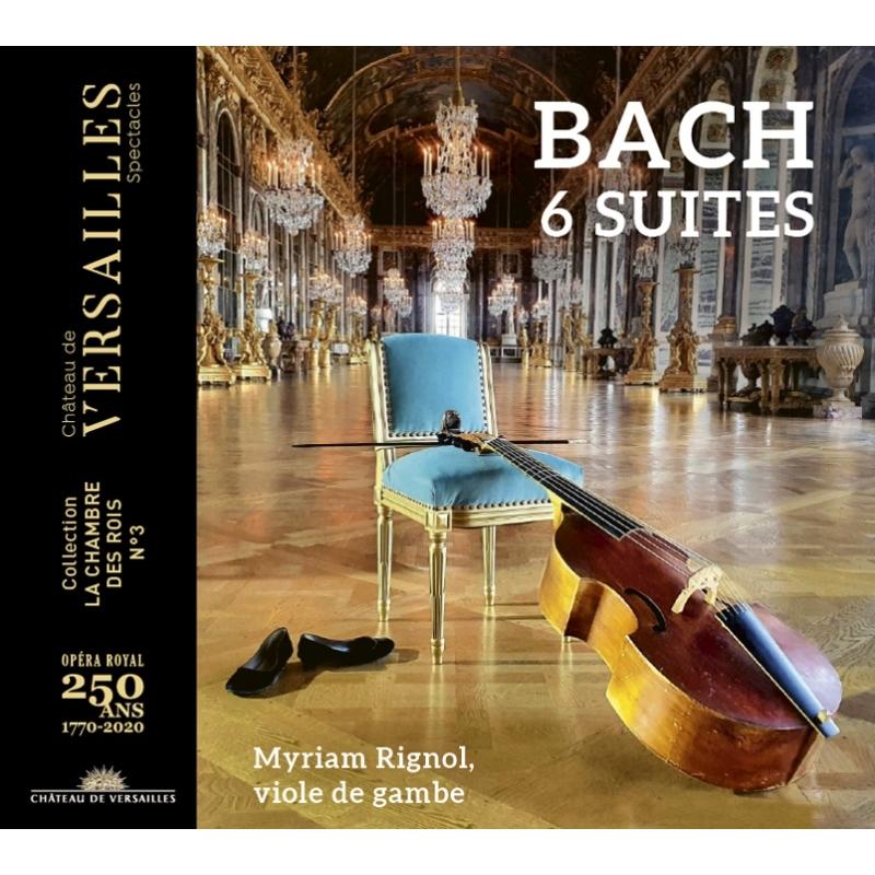 無伴奏チェロ組曲 全曲 ミリアム・リニョル(ヴィオラ・ダ・ガンバ)(2CD)