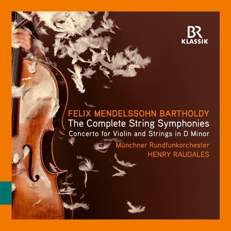 弦楽のための交響曲全集、ヴァイオリンと弦楽オーケストラのための協奏曲 ヘンリー・ラウダレス&ミュンヘン放送管弦楽団(3CD)